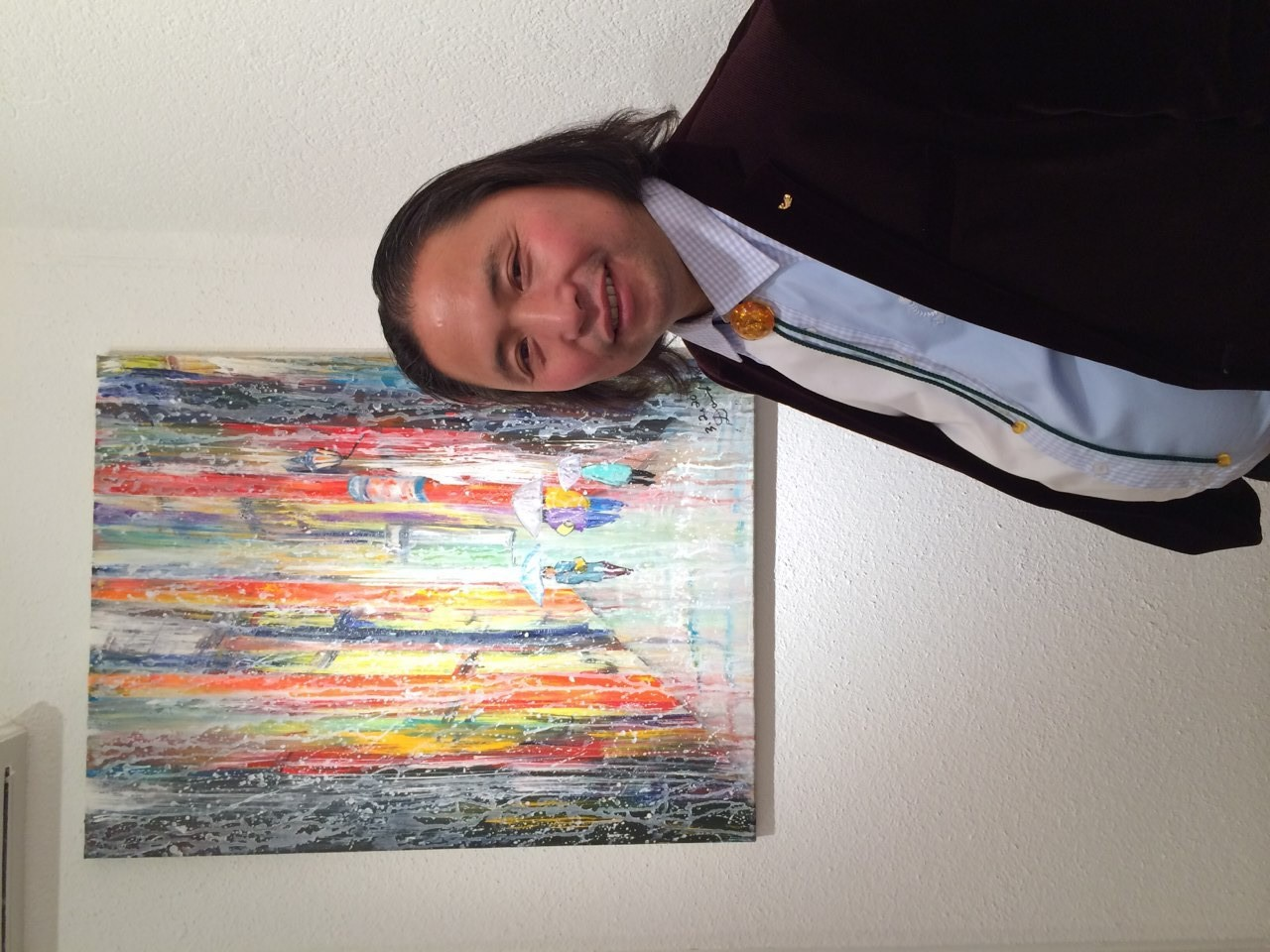 David Ma, Swiss Chinese Artist, DAVID MA ART - EXHIBITION, CASA DEL ARTE, 18.-23.11.2014, Vernissage