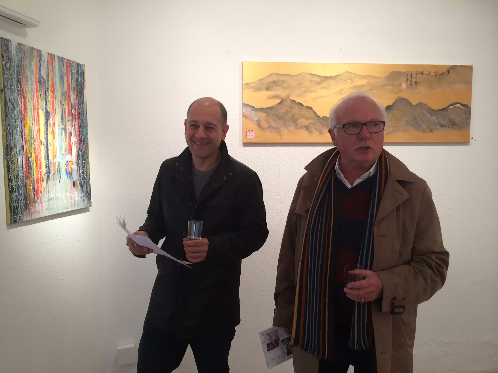 DAVID MA ART- EXHIBITION, CASA DEL ARTE, 18.-23.11.14